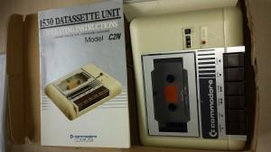 1530 Data cassette speler C64