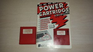 Power cartridge C64 en C128